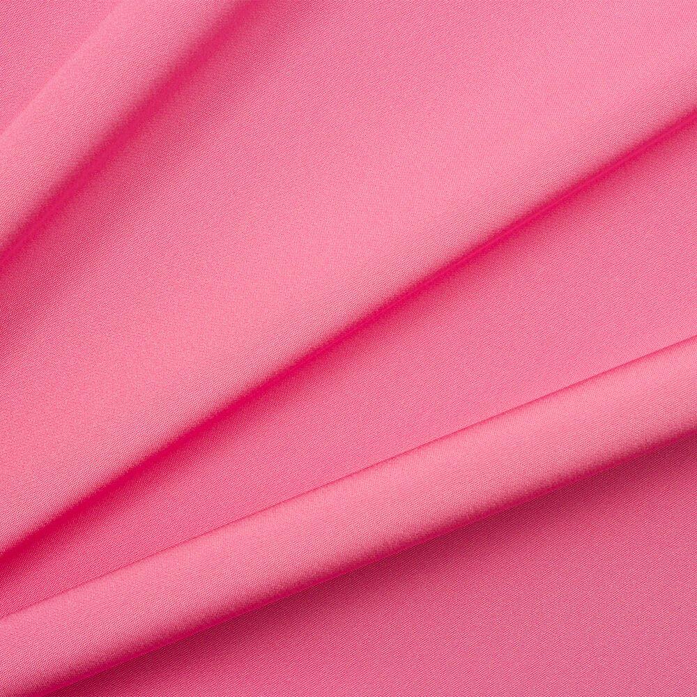 Light Bubble Gum Pink Silk Marocain Crêpe