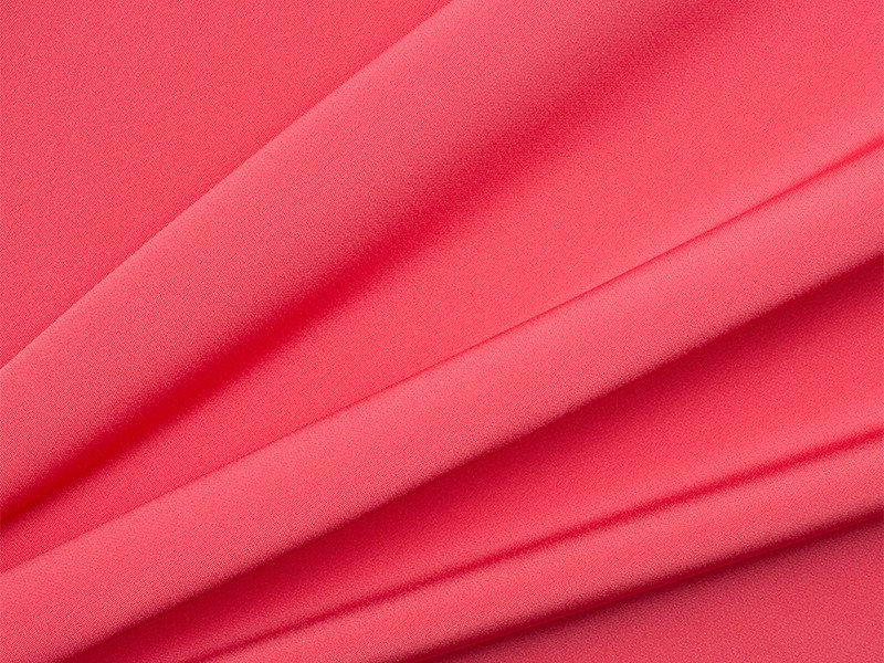 Soft Cerise Pink Silk Marocain Crêpe, £124.90/m. Available in a variety of colours.