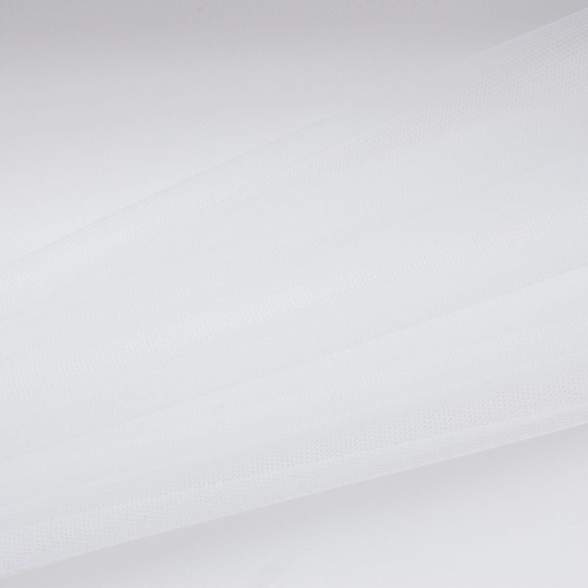 Brilliant White Illusion Tulle