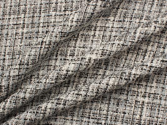 Monochrome Cotton Blend Bouclé, £98.90/m