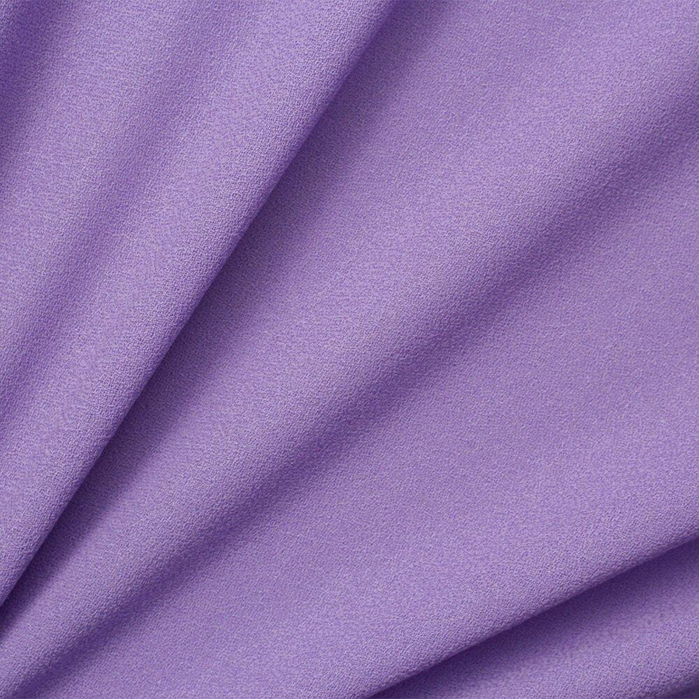 Lavender Single Wool Crêpe