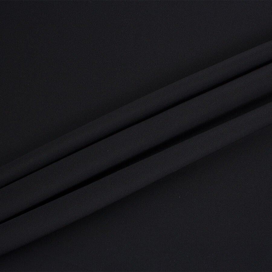 Black Silk Crêpe de Chine