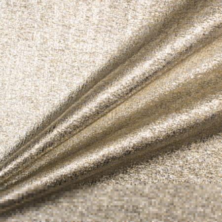 Get the look:<br />Gold & Silver Metallic Silk Jacquard