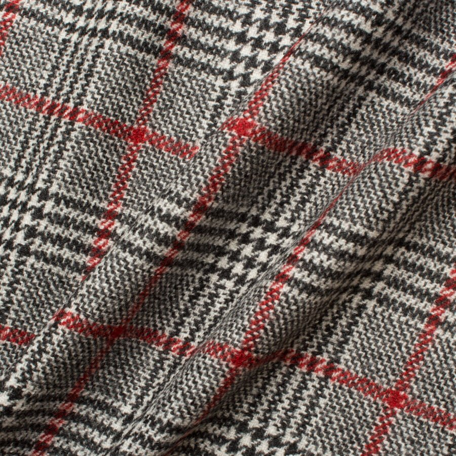 Prince of Wales Checkered Pure Wool by Loro Piana
