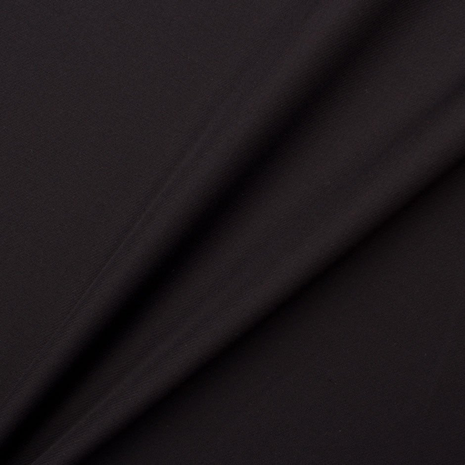 Plain Black Superfine Pure Wool by Zegna<br />