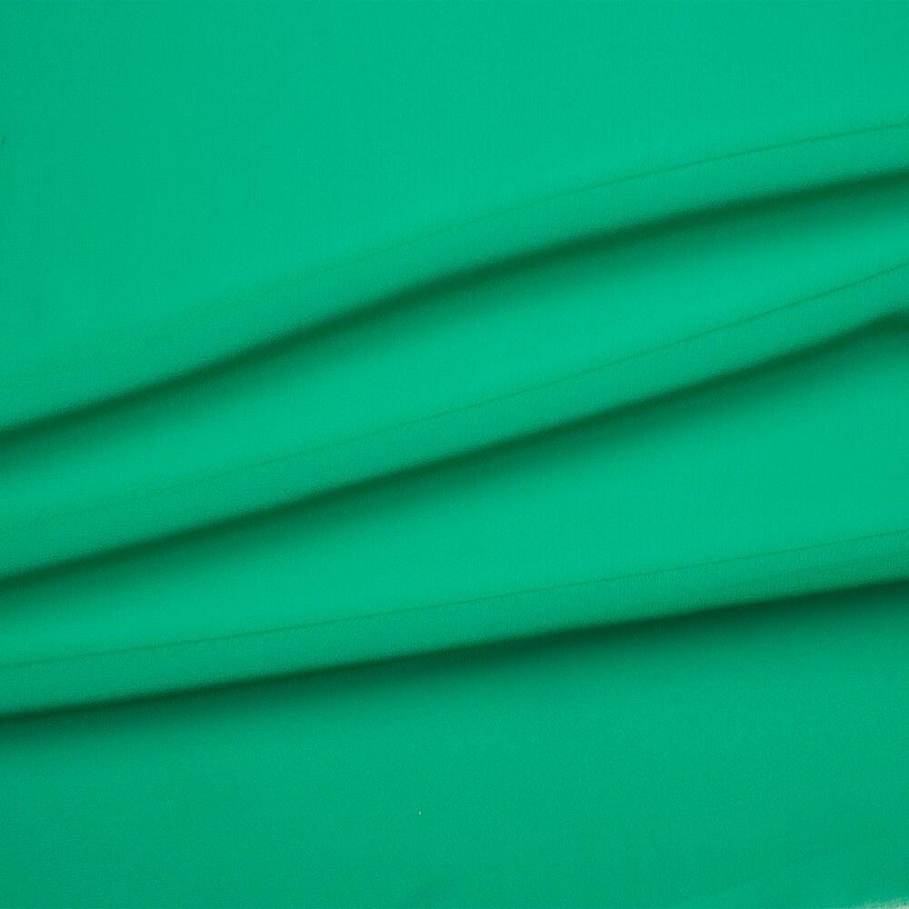 Emerald Green Silk Georgette<br />