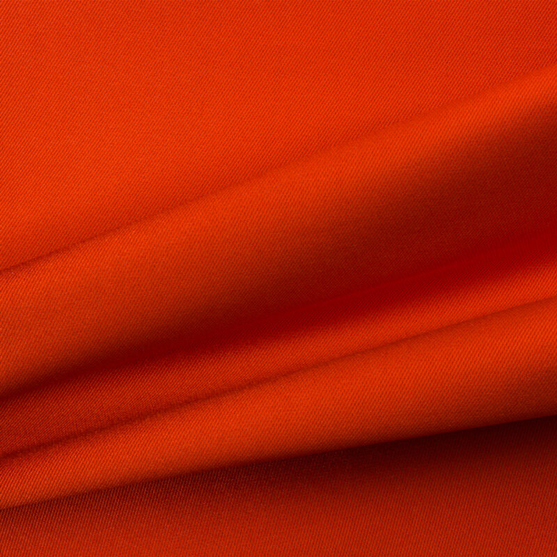 Orange/Red Silk Zibeline