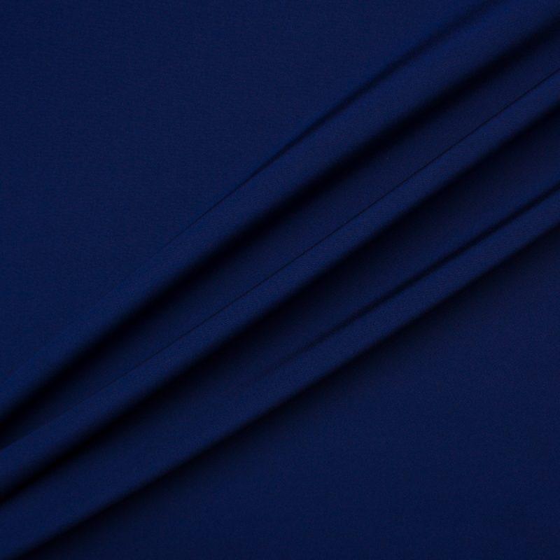 Recreate the look with our Dark Blue Silk Marocain Crêpe
