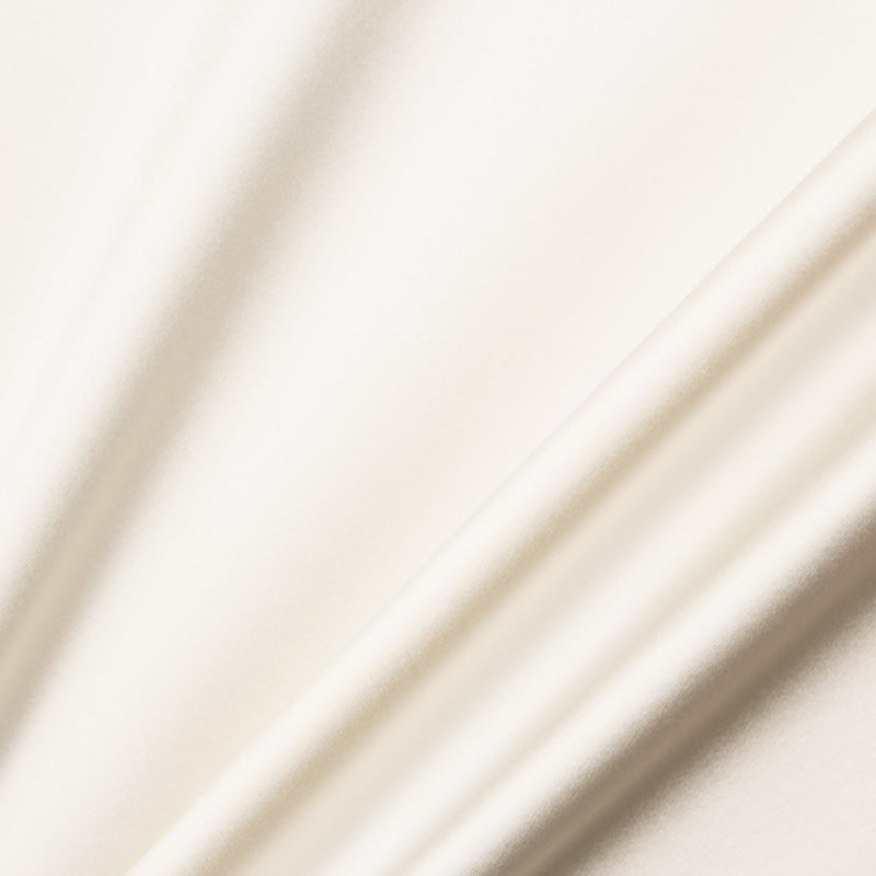 Ivory Double Silk Satin