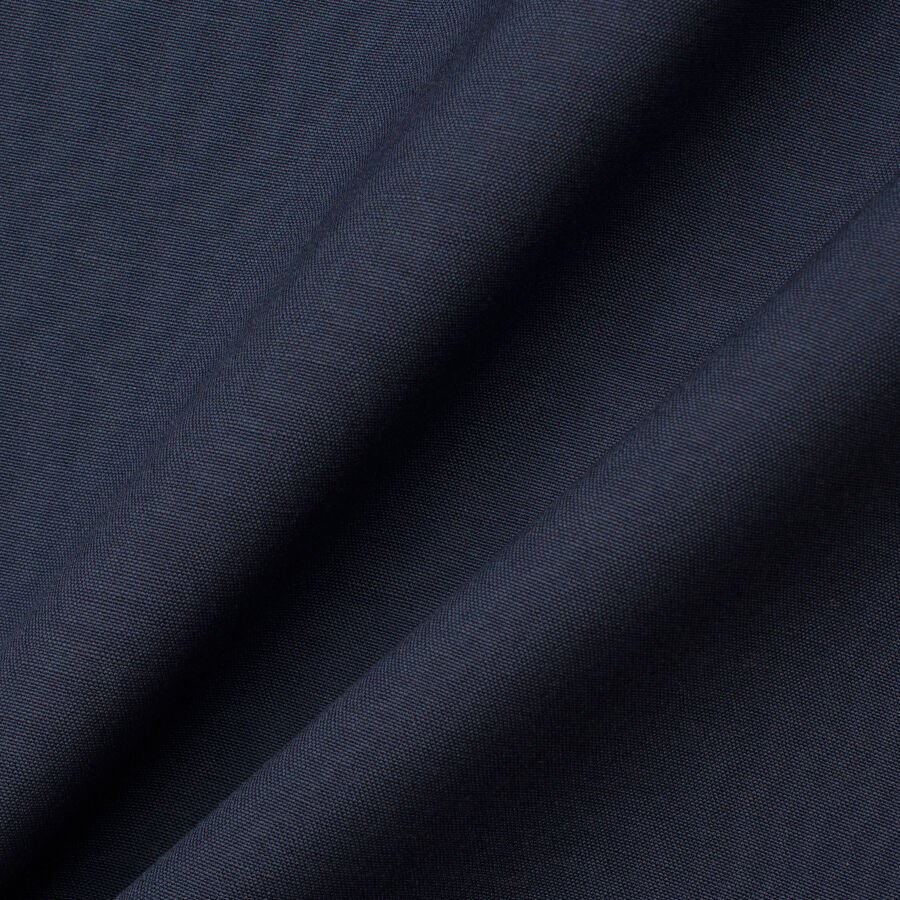 Dark Blue Superfine Wool Blend Suiting by Loro Piana