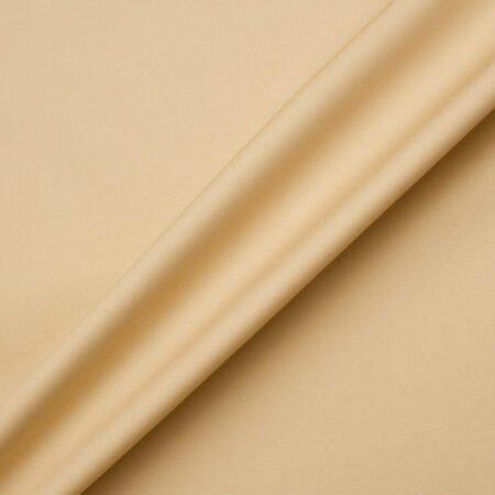 Get the look:<br />Beige Pure Cotton Gaberdine