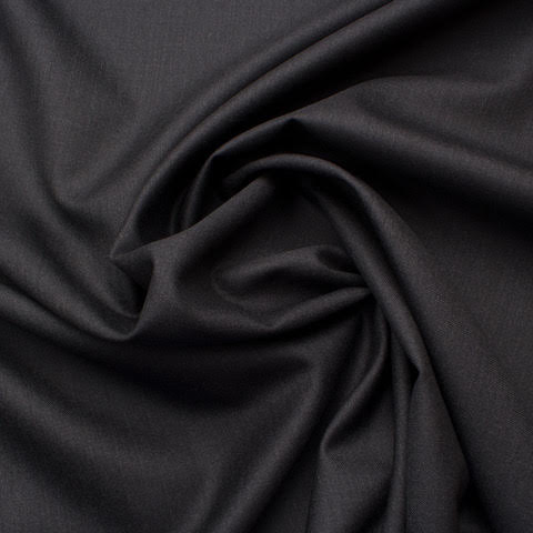 Dark Grey Silk & Wool 'Trofeo' Suiting