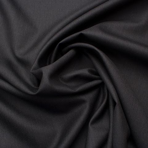 Dark Grey Silk & Wool 'Trofeo' Suiting