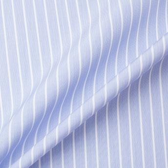 Blue & White Striped Superfine Pure Cotton