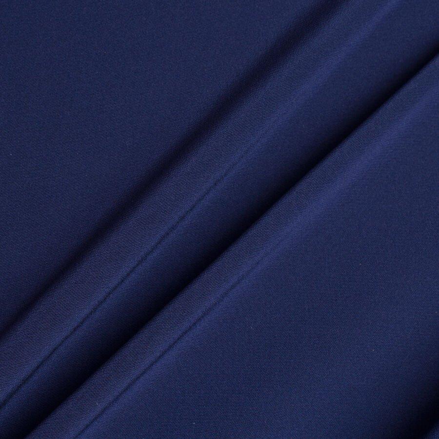 Dark Blue Double Twist 17 Micron Wool Suiting