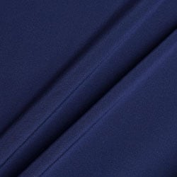 Dark Blue Double Twist 17 Micron Wool Suiting