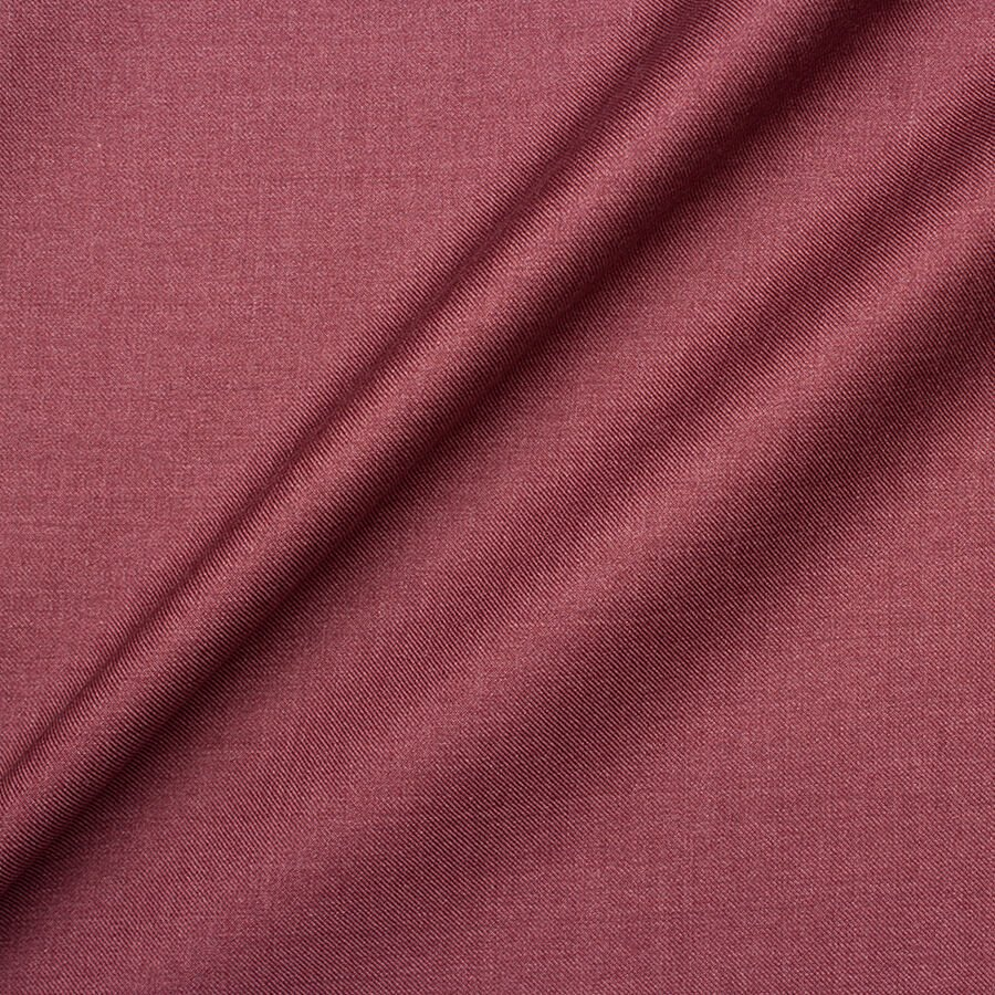 Old Rose Pink Cashmere & Silk Blend Suiting