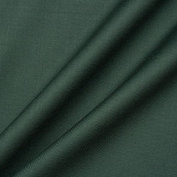 Bottle Green Double Twist 17 Micron Wool Suiting