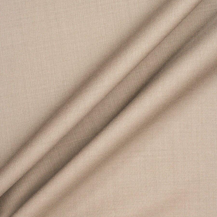 Beige Cashmere & Silk Blend Suiting