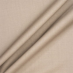 Beige Cashmere & Silk Blend Suiting