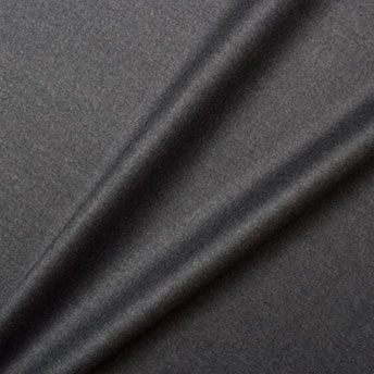 Deep Grey Superfine 'Emotion' Pure Wool Suiting