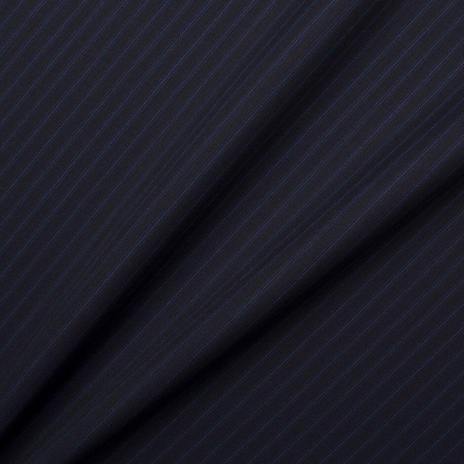 Midnight Blue 'Trofeo' Superfine Pure Wool