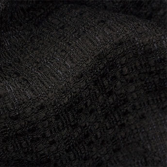 Black Wool Bouclé