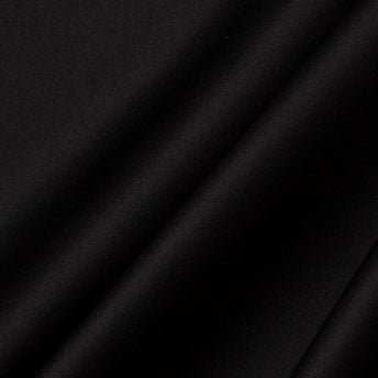 Black Silk Satin