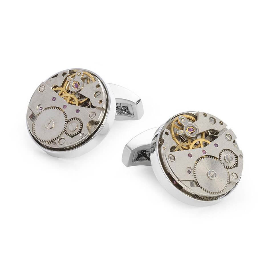 Watch Movement' Cufflink Set