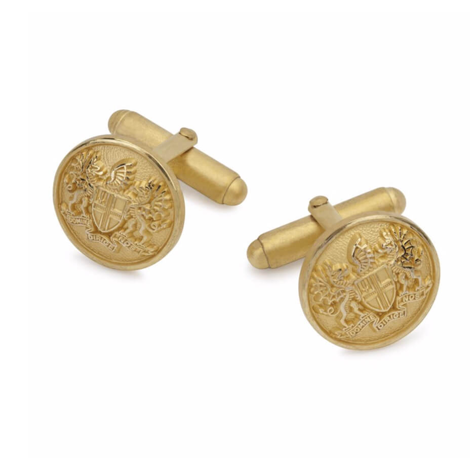 Gold Plated 'City of London' Cufflinks Set