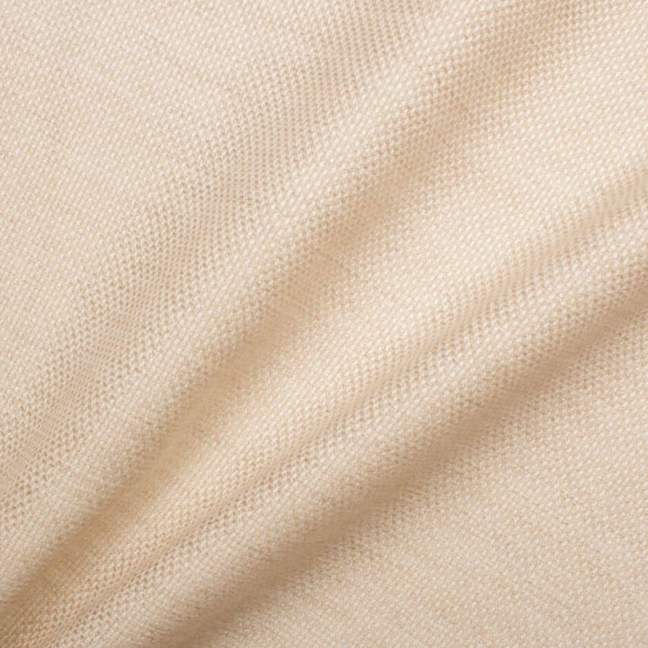 Oatmeal Cashmere & Silk Suiting