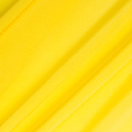Fluorescent Yellow Silk Crêpe de Chine