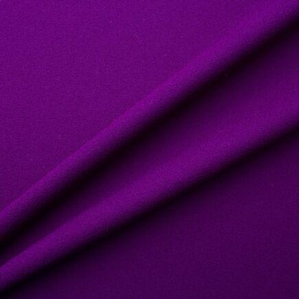 Electric Purple Single Wool Crêpe