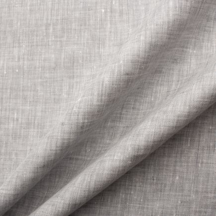 Light Grey Two Tone Handkerchief Linen