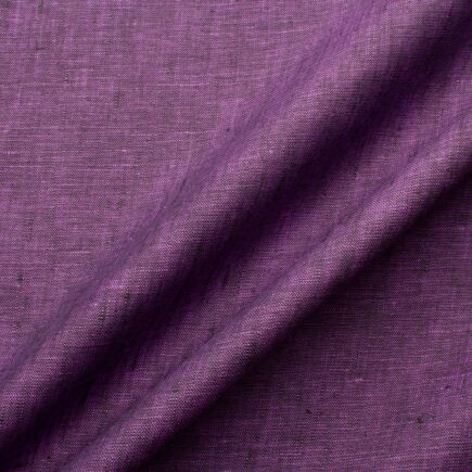 Purple & Black Two Tone Handkerchief Linen