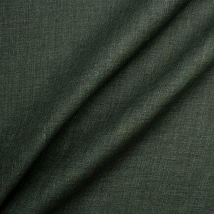 Dark Shot Green Linen Suiting