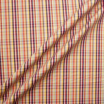 Multi Coloured Checkered Pure Cotton Shirting