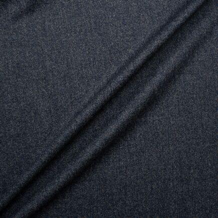 Slate Blue Mélange Superfine Pure Wool