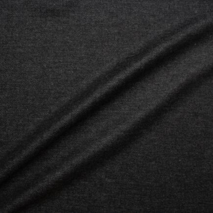 Shadow Grey Wool & Cashmere Herringbone Suiting