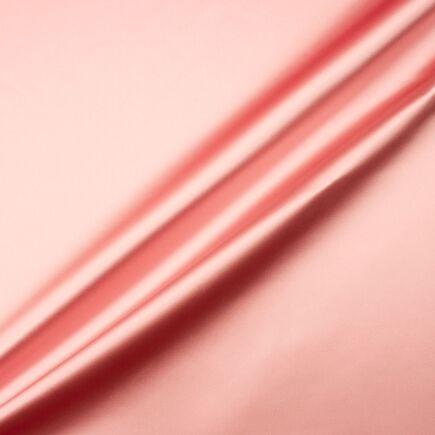 Rose Pink Silk Blend Duchess Satin