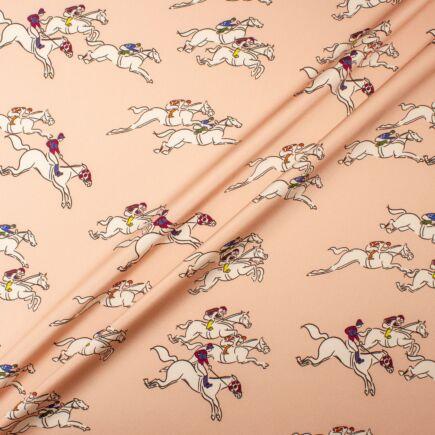 Jockey Printed Pure Silk Satin