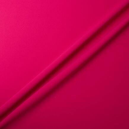 Rich Fuchsia Pink Pure Silk Moss Crêpe