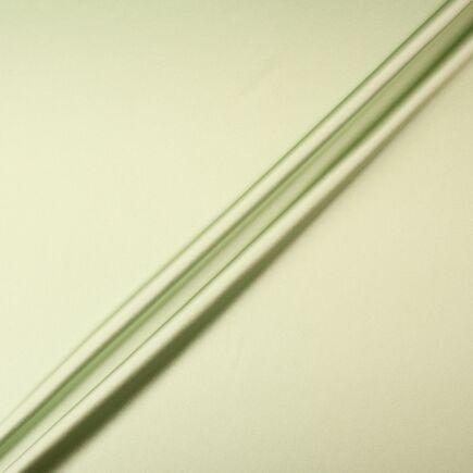 Pistachio Green Silk Satin Double Crêpe