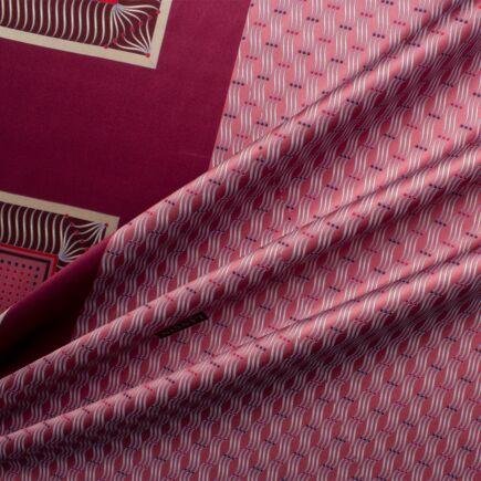 Bordeaux Lanvin Tie/Handkerchief Panel