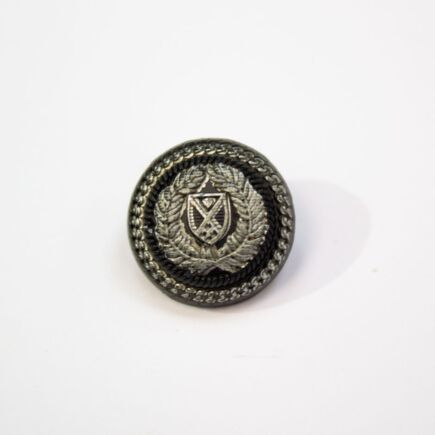 Crest & Chain Jacket Button - Small