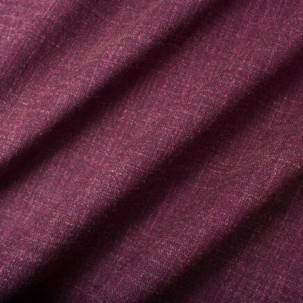 Red Grape Wool & Silk Woven Suiting (A 2.30m Piece)