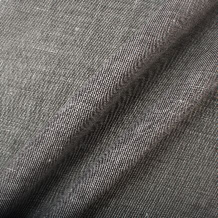 Mid Grey Woven Wool & Linen Suiting (A 1.50m Piece)