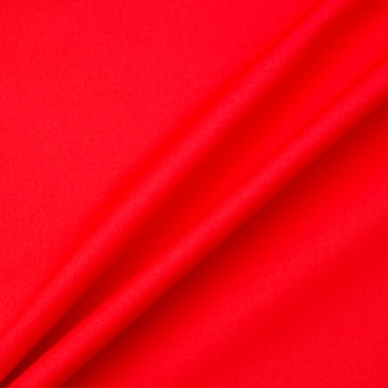 Rich Red Pure Cotton