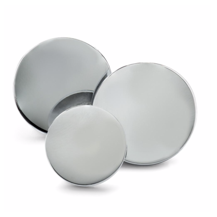 Sterling Silver Single Breast Button Set